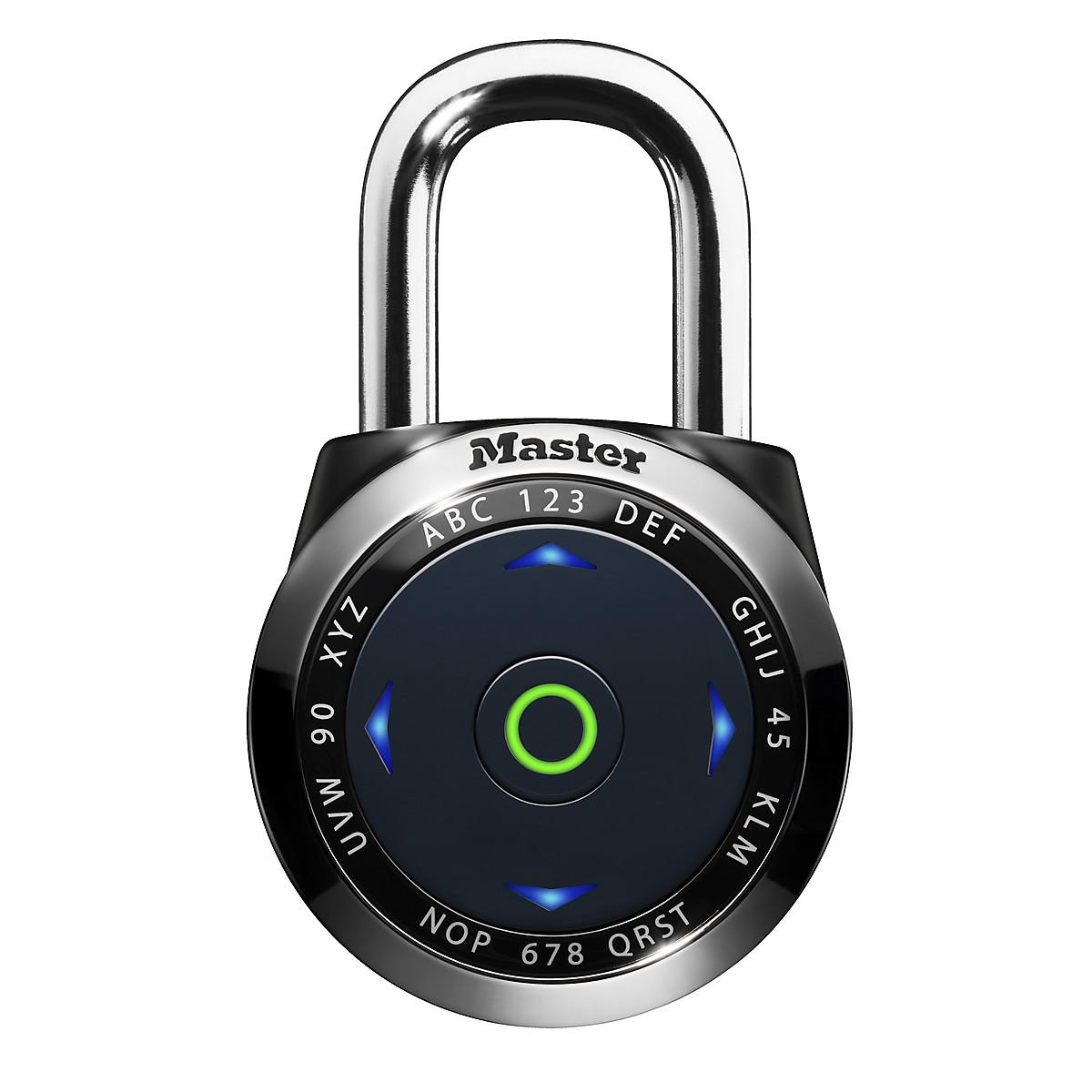 Masterlock eONE 1500eDBLK Combination Padlock