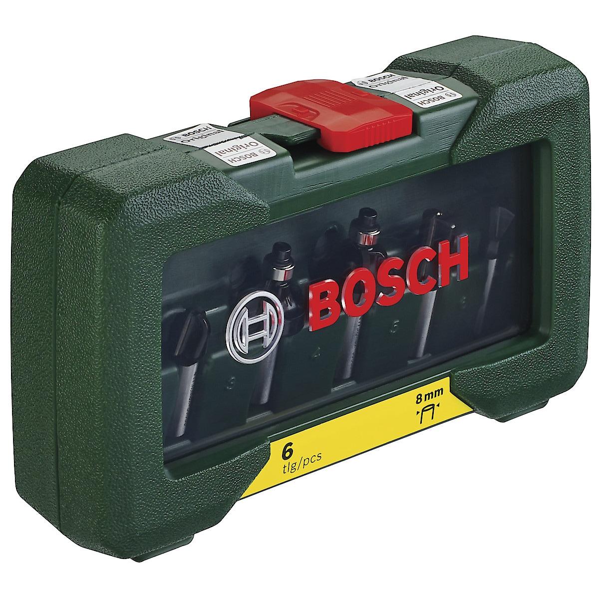 Bosch fresestål, 6 deler