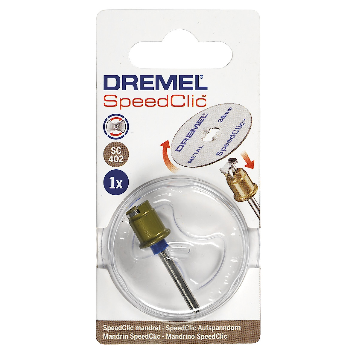 Dremel SpeedClic SC402 spindel