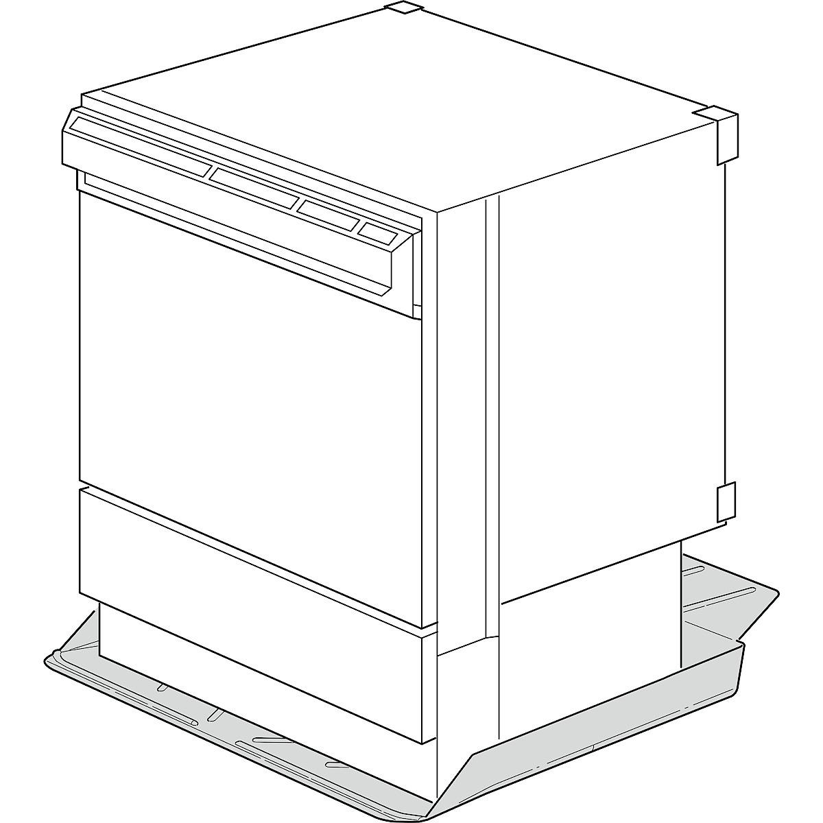 Underlägg för diskmaskin och kyl/frys