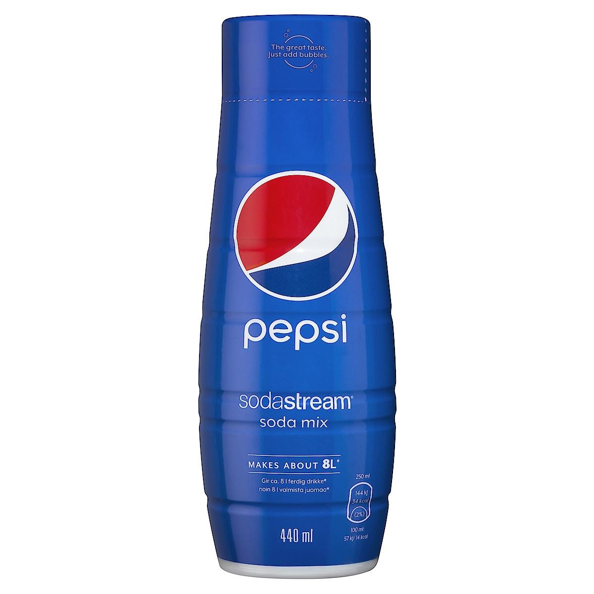 SodaStream Pepsi, smakkoncentrat 440 ml