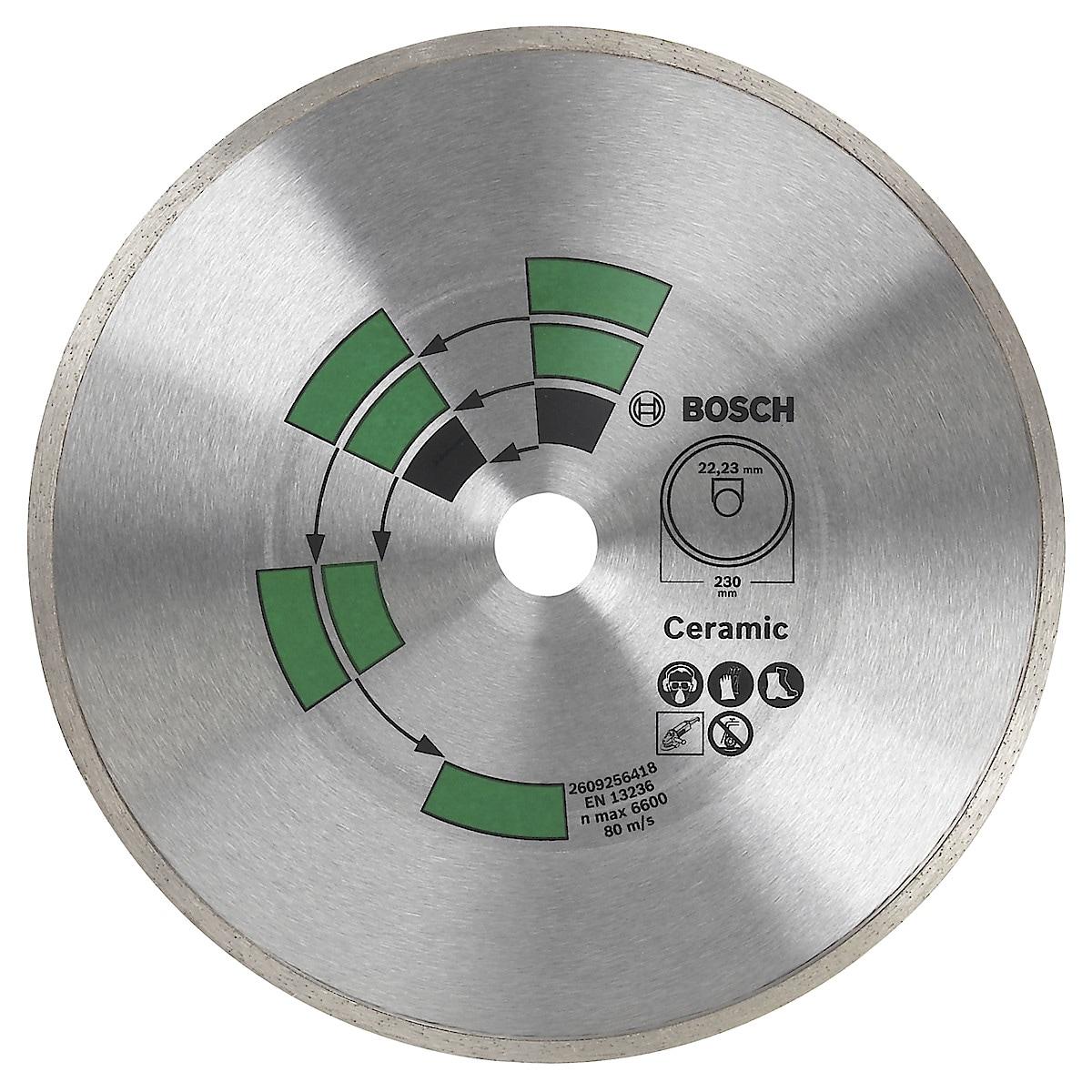 Diamantkapskiva för kakel Bosch