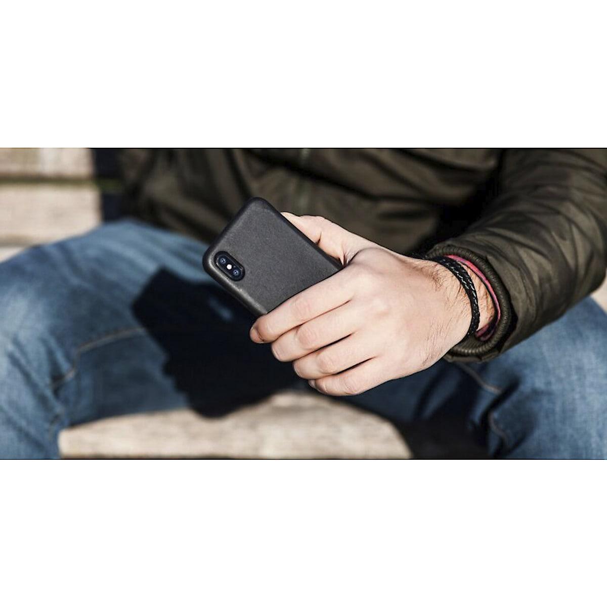 Lærarmbånd med ladekabel til iPhone/iPad