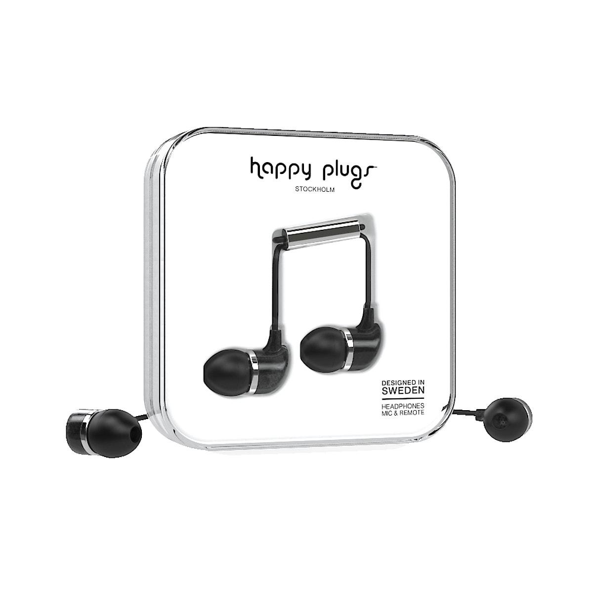 Hörlurar med mikrofon, Happy Plugs In-ear Unik Edt