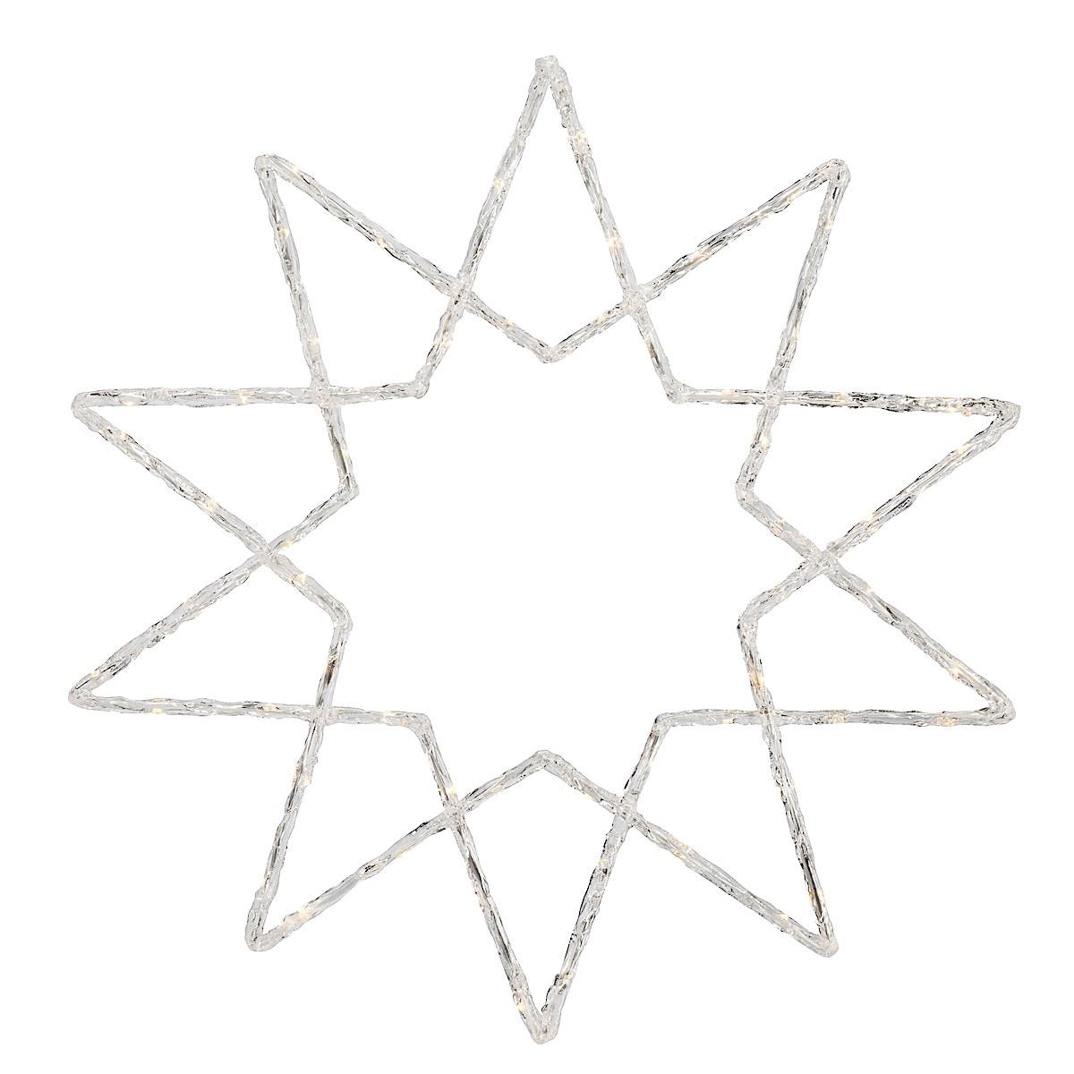 Stjärna i akryl