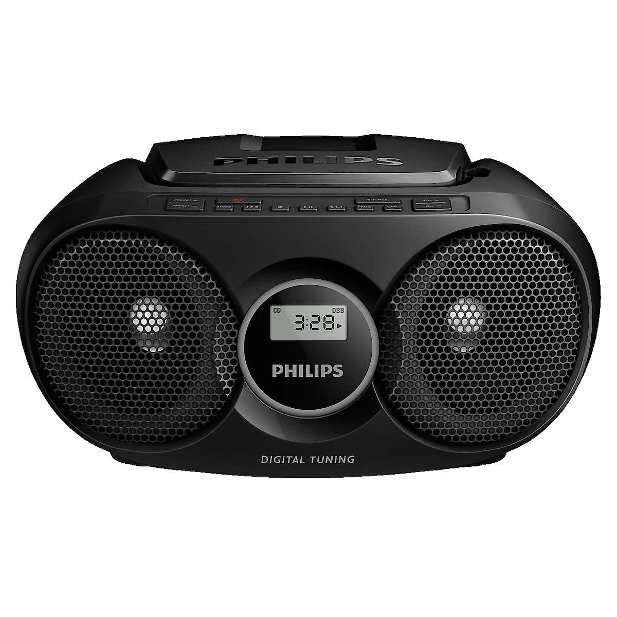 Philips AZ215, CD-spiller med FM-radio