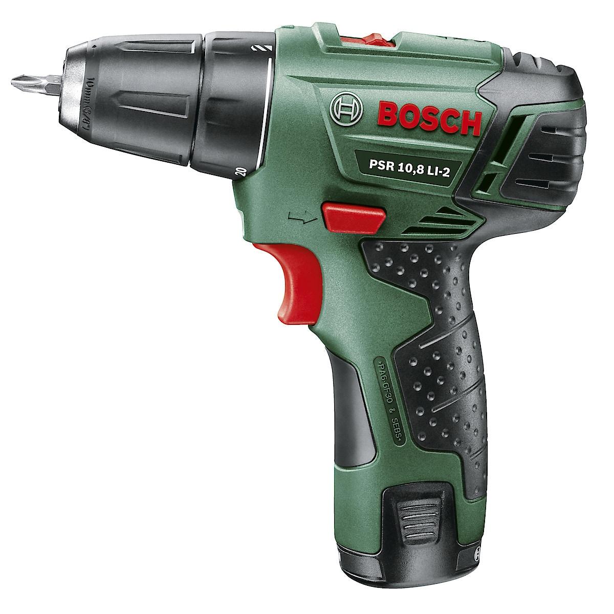 Borrmaskin/skruvdragare Bosch PSR 10,8 LI-2