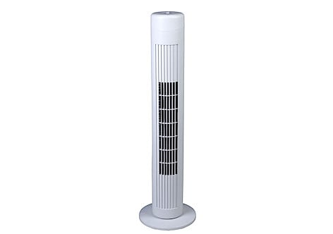 """15/"""" Inch Mini Tower Fan Oscillating Plastic Stand Electric Office Home Desk Cool"""