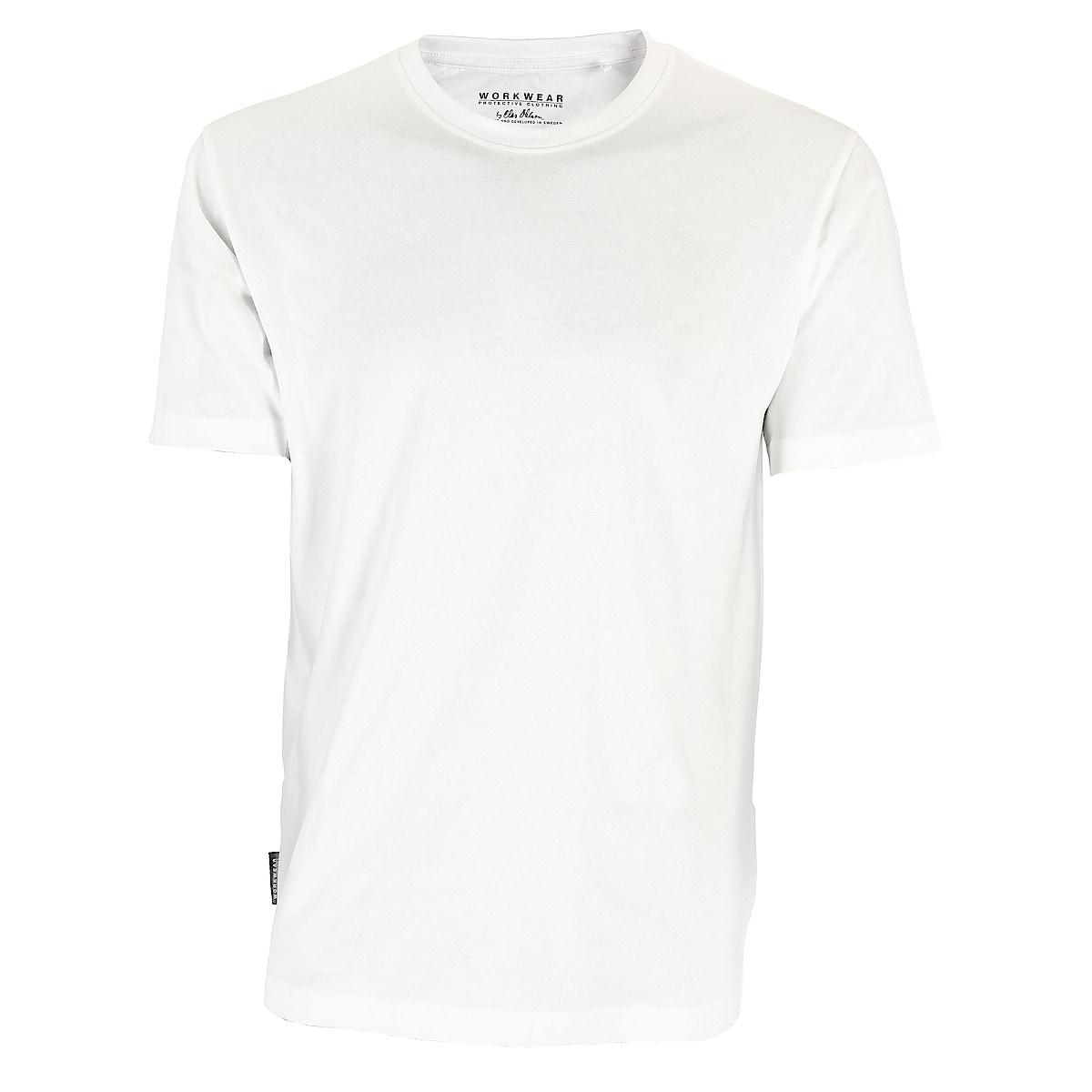 T-shirt herr, vit