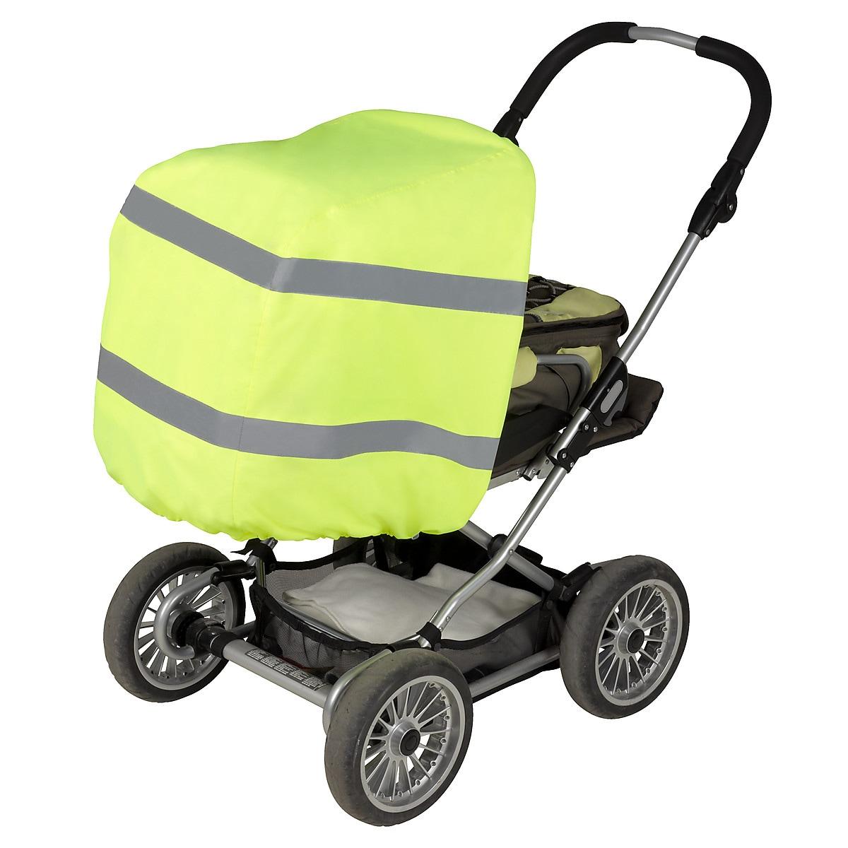 Regnöverdrag med reflex för barnvagn Clas Ohlson