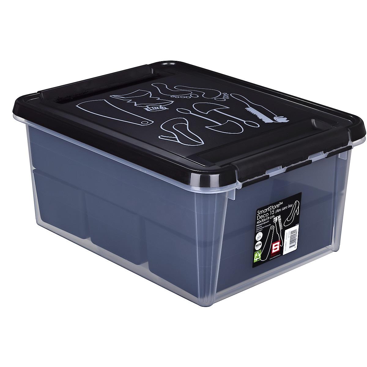 SmartStore Deco Shoe Care Box