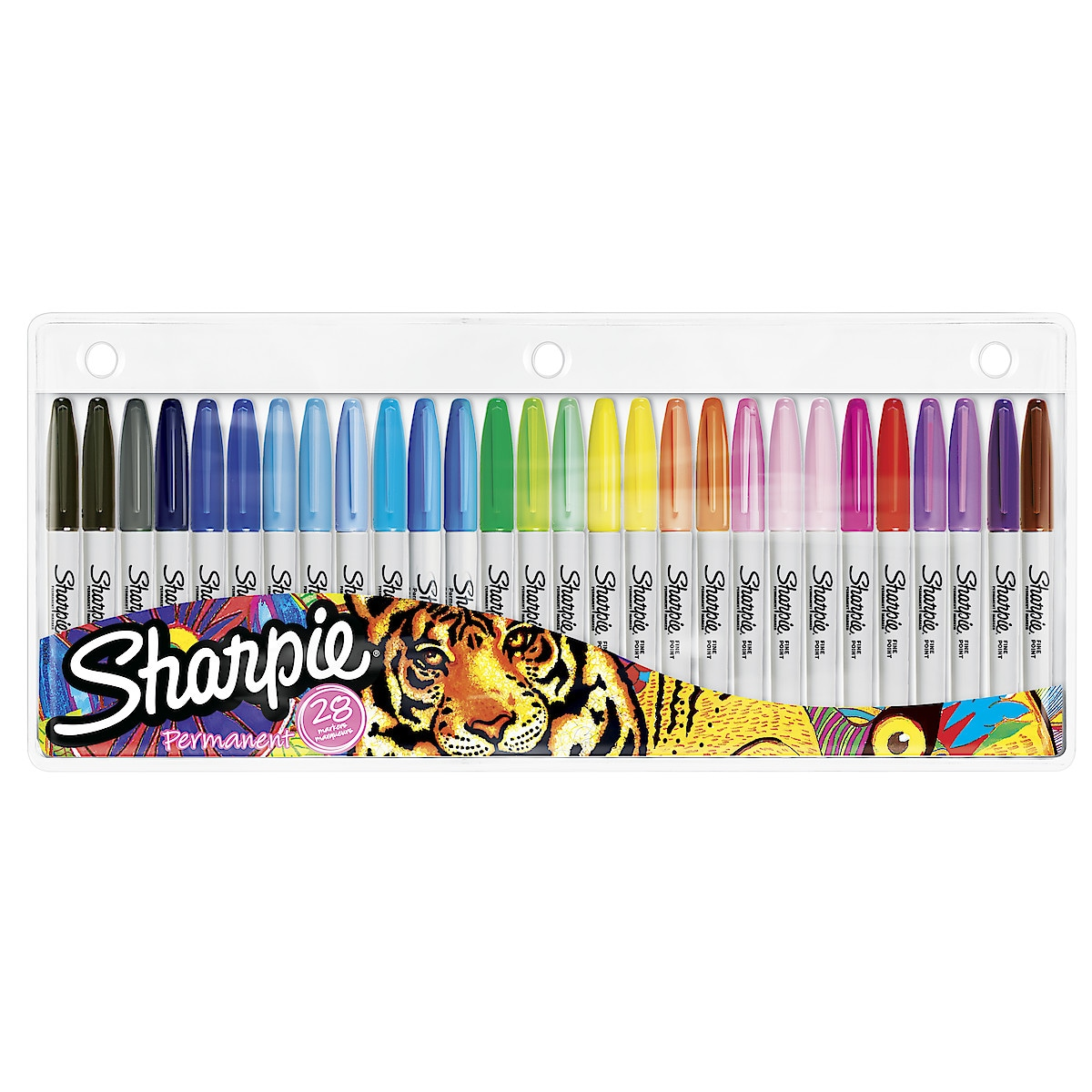 Tuschpennor Sharpie Fine, 28-pack