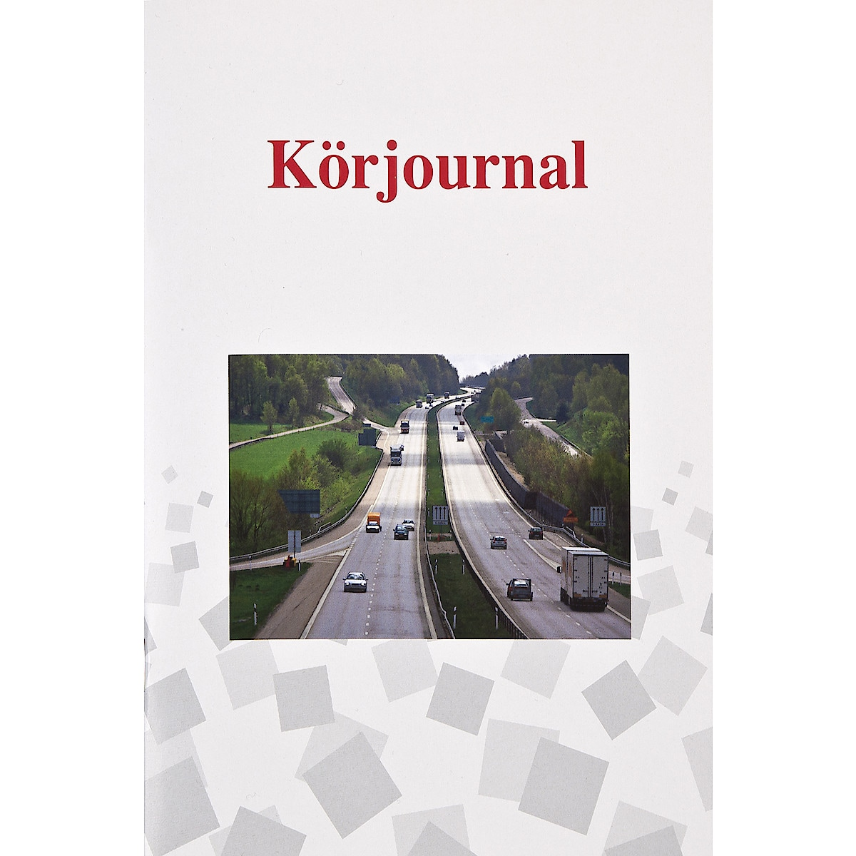 Körjournal A5, 32 blad