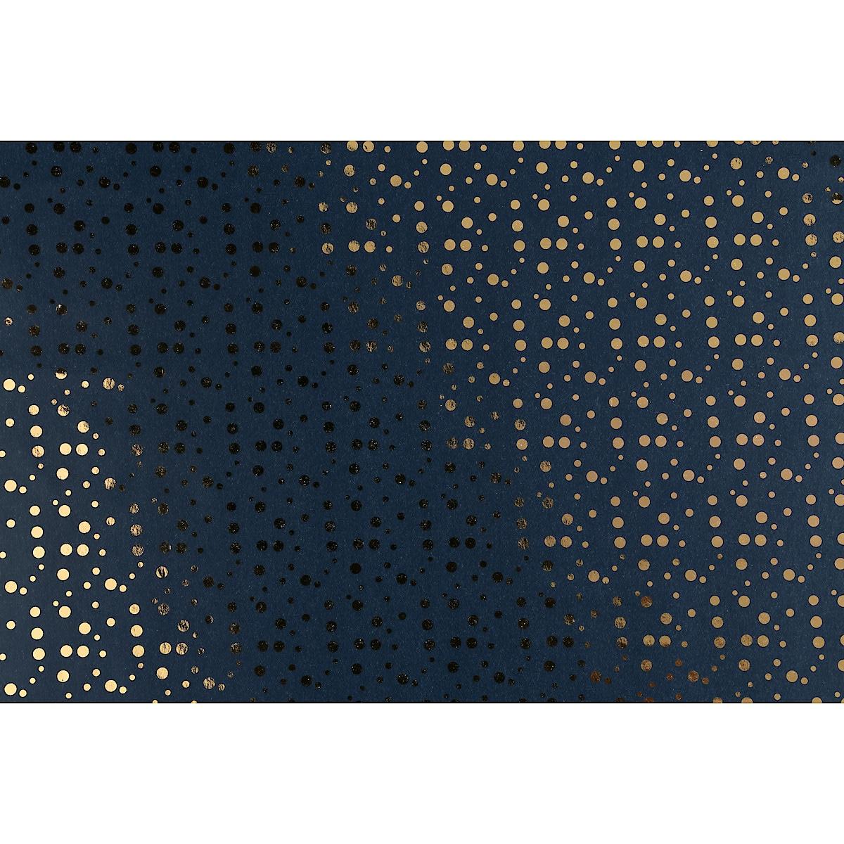 Julpapper metallic och hot foil, 3 m x 70 cm