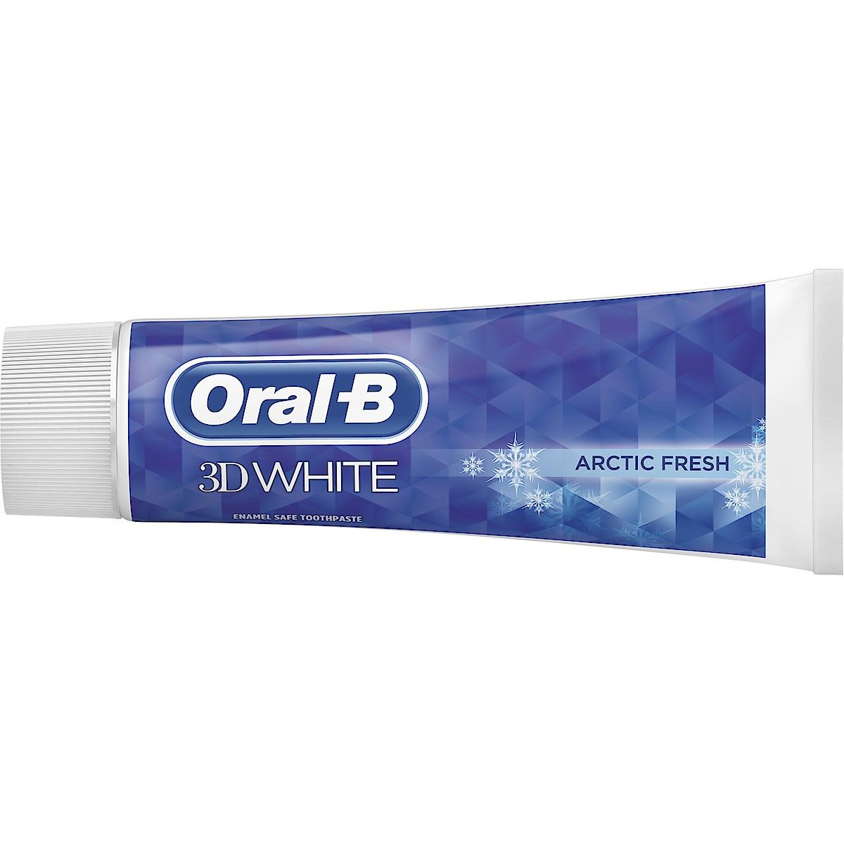Hammastahna Oral-B 3D White Arctic Fresh