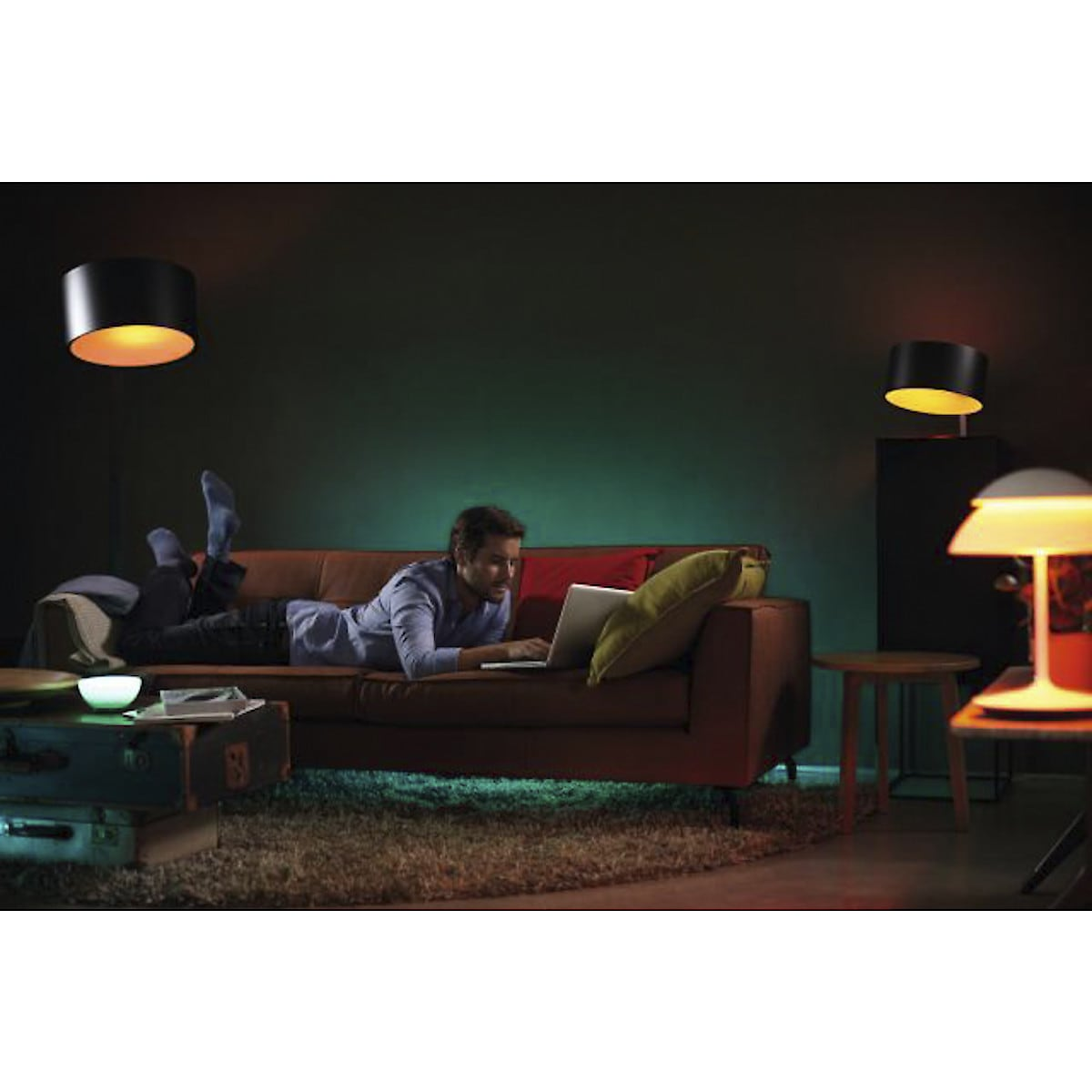 Aloituspakkaus Philips Hue White and Color Ambiance E27