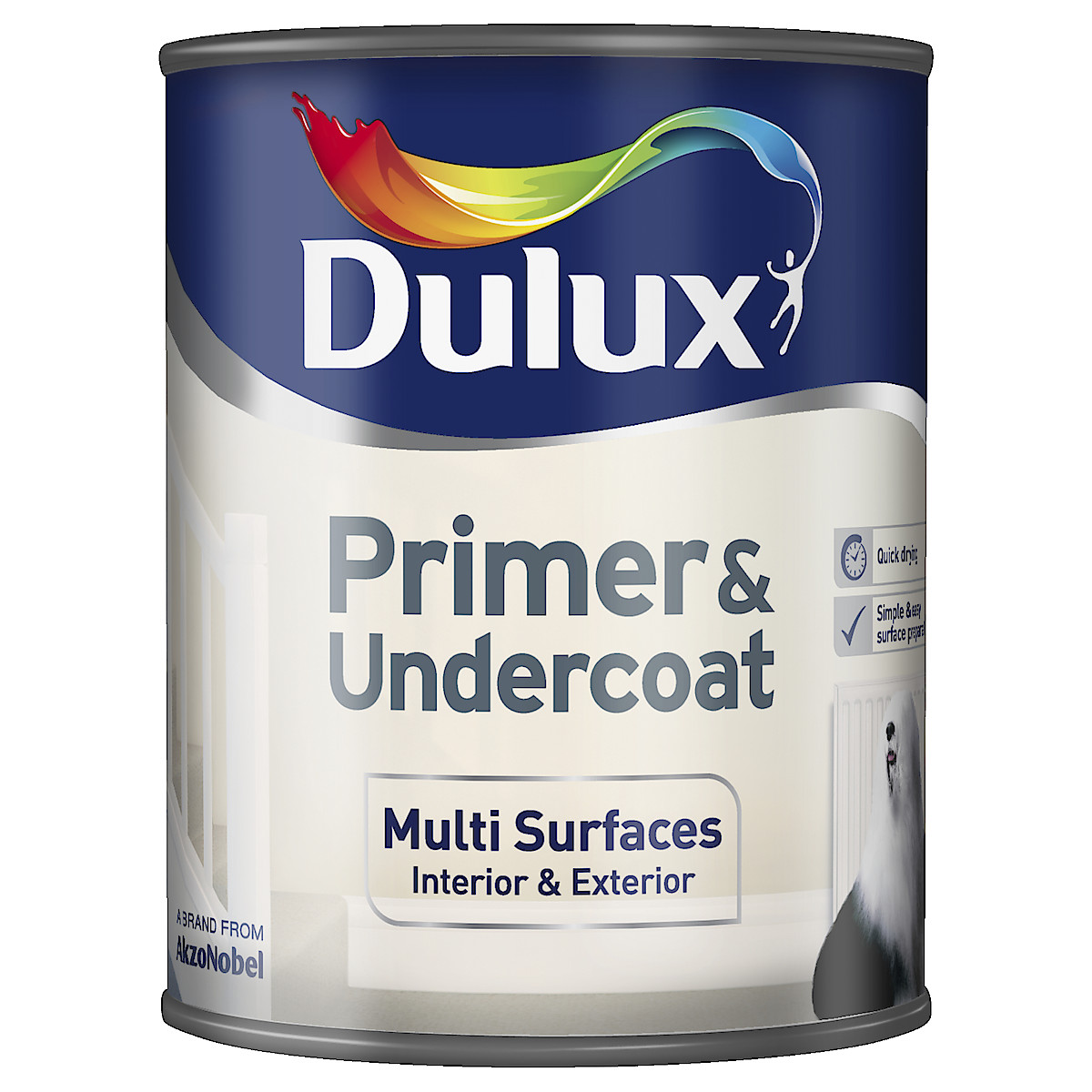 Dulux Quick Drying Multi-Surface Primer Undercoat 750 ml