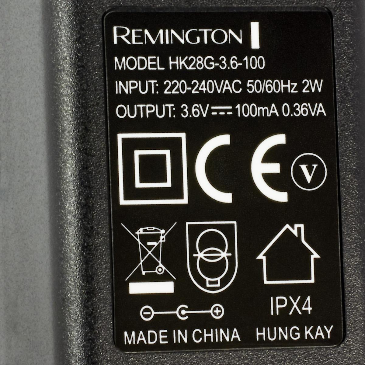Laturi Remington 3,6 V/100 mA