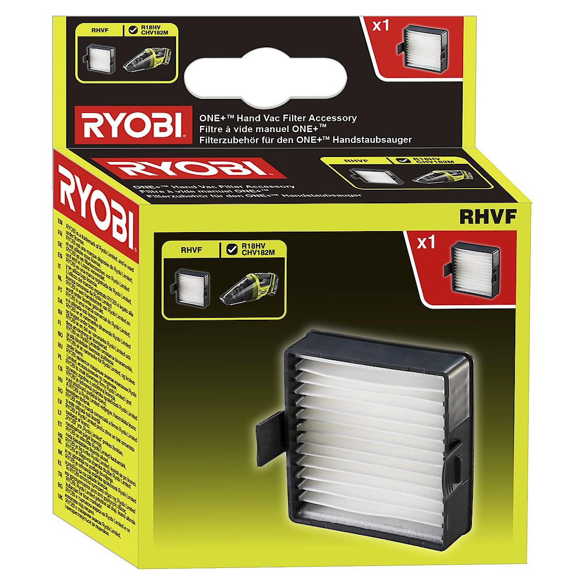 Filter till handdammsugare, Ryobi RHVF
