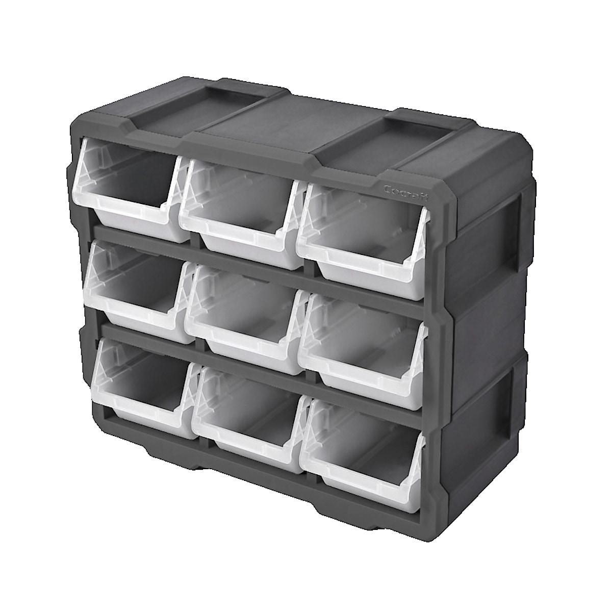 Förvaringslåda med plockbackar Cocraft FSS, 9-pack