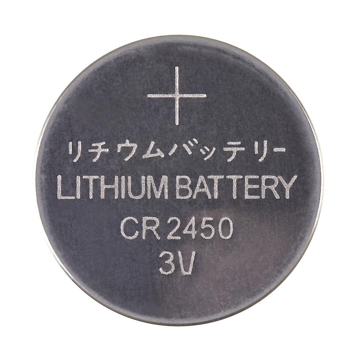 Litiumbatteri CR2450 3 V