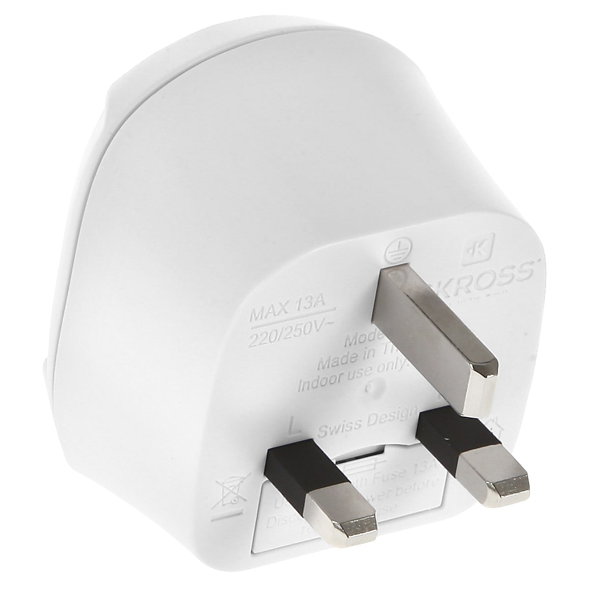 SKROSS Europe to UK Travel Adaptor Plug