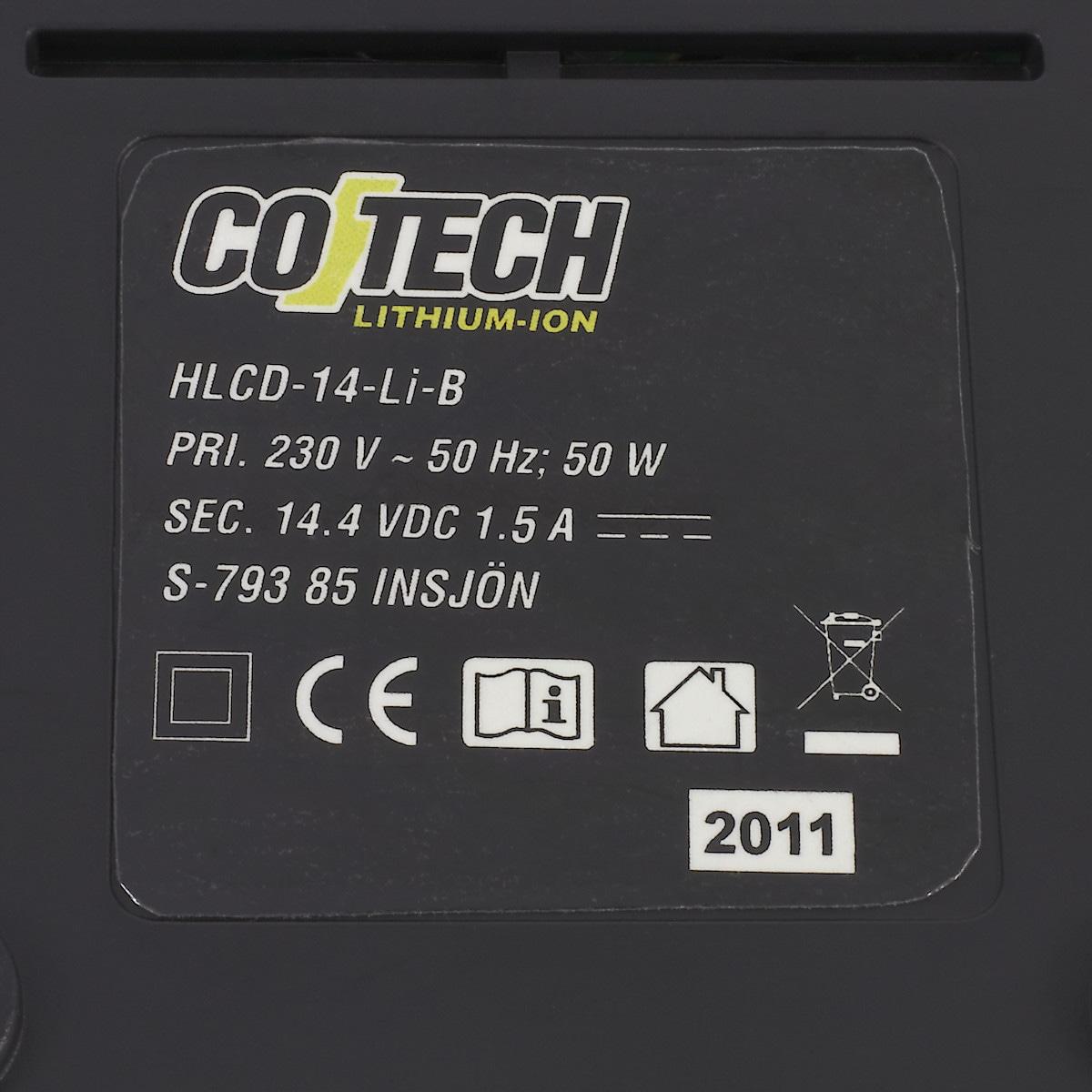 Ladegerät Cotech 14,4 V