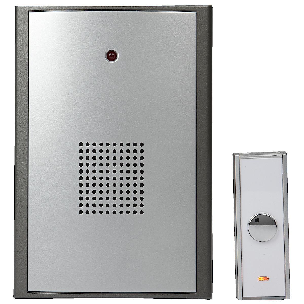 Trådlös dörrklocka med MP3-melodier