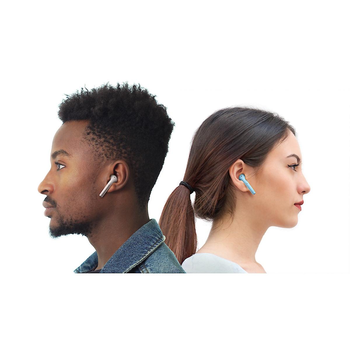 Streetz True Wireless Stereo semi-in-ear, trådløst headset