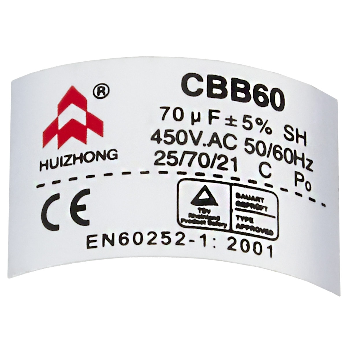 Kondensator 70 µF CBB60 Cotech
