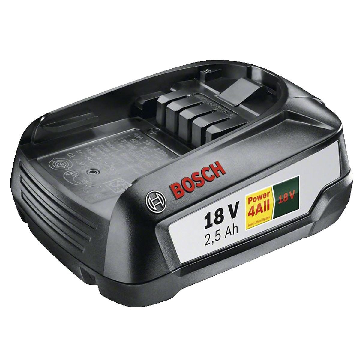 Batteri Bosch 18 V 25 Ah W-B