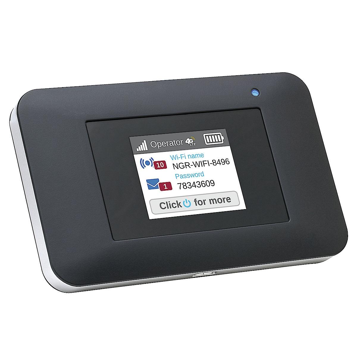 Netgear AirCard 797S, 4G-router för mobilt bredband.