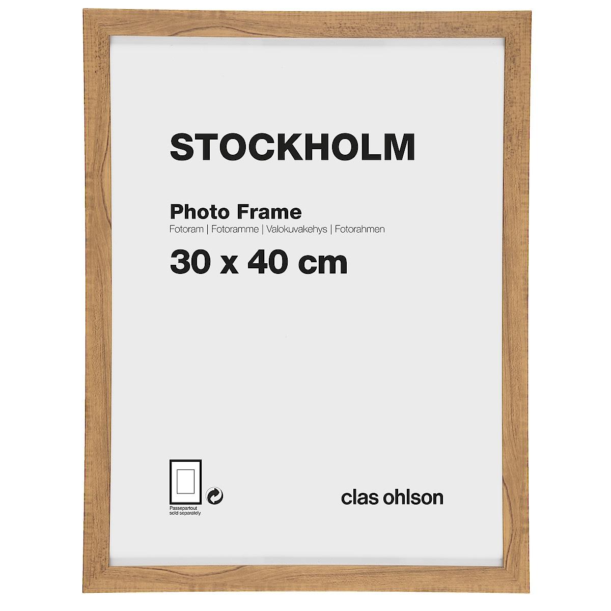 Stockholm photo frame – oak-look