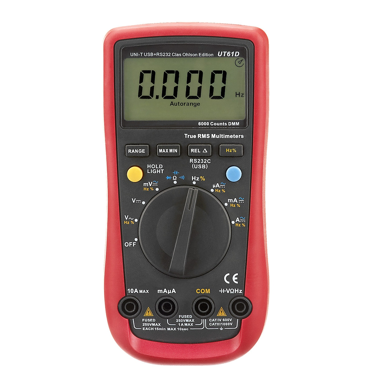 Multimeter med USB UNI-T UT61D