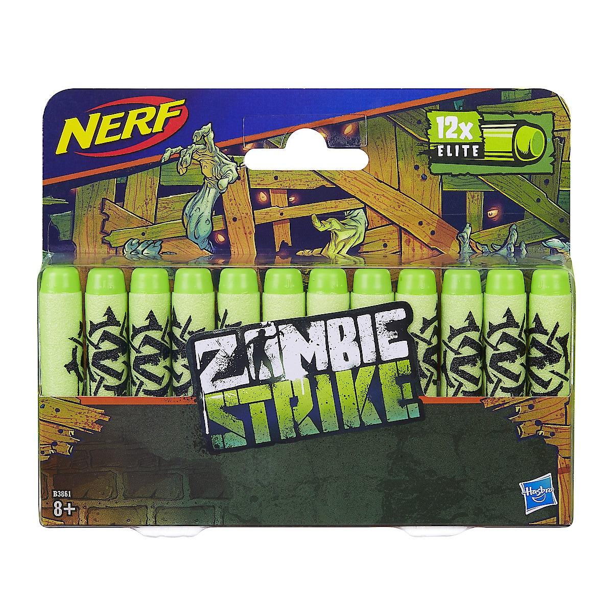 Nerf Zombie Strike Elite, 12 ammuksen täyttöpakkaus