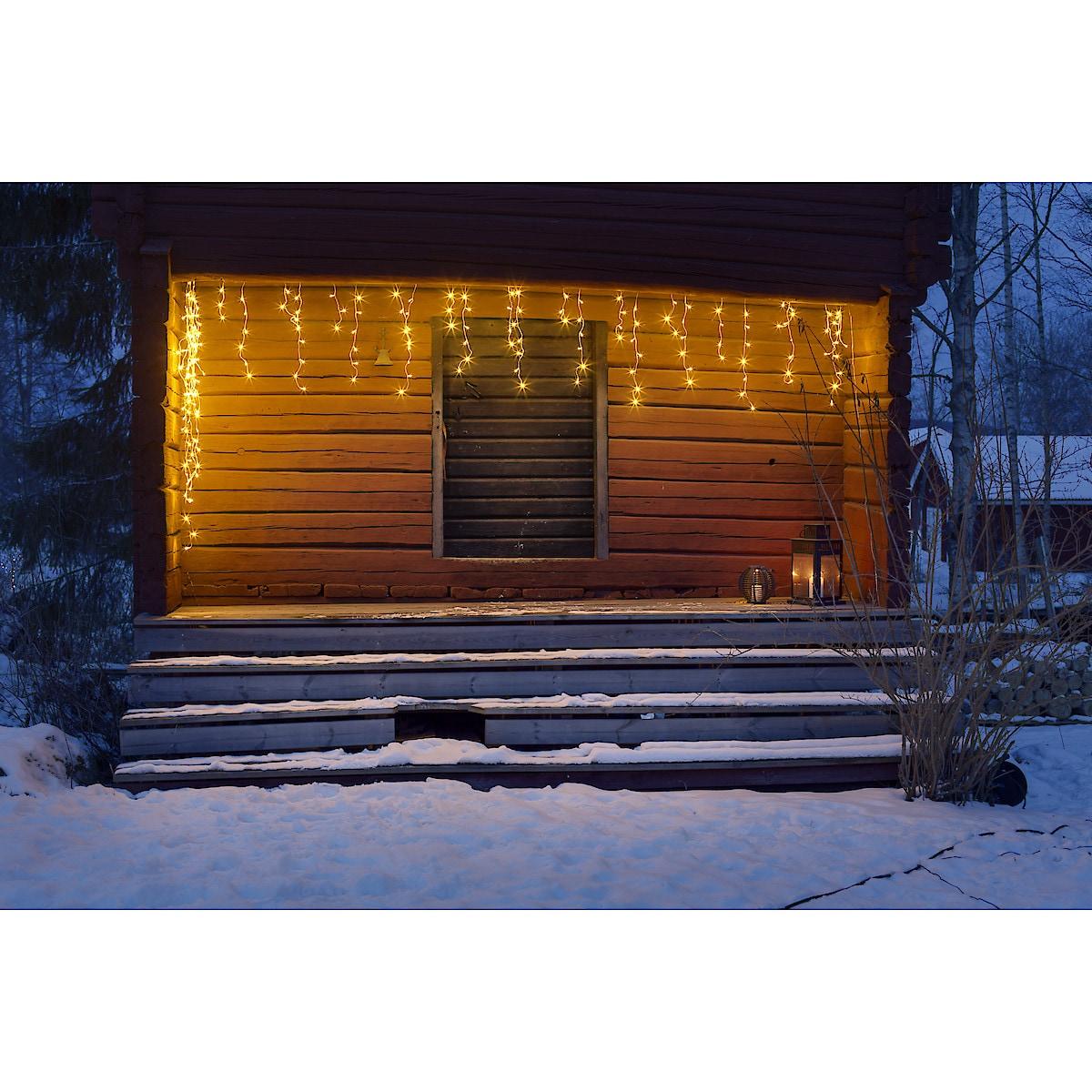 Istappslynge LED utbyggbar Northlight, 5+5 m