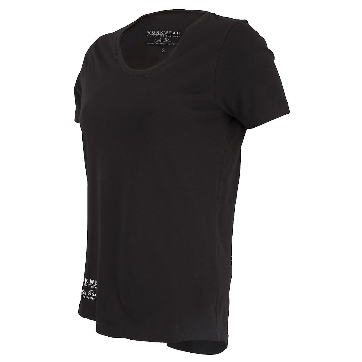 T-Shirt Damen, Schwarz