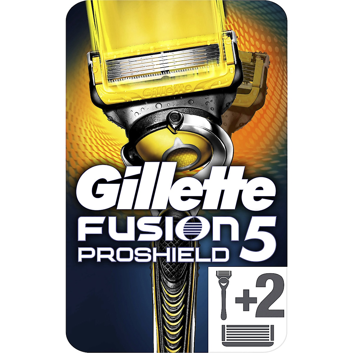 Rakhyvel Gillette Fusion ProShield Yellow