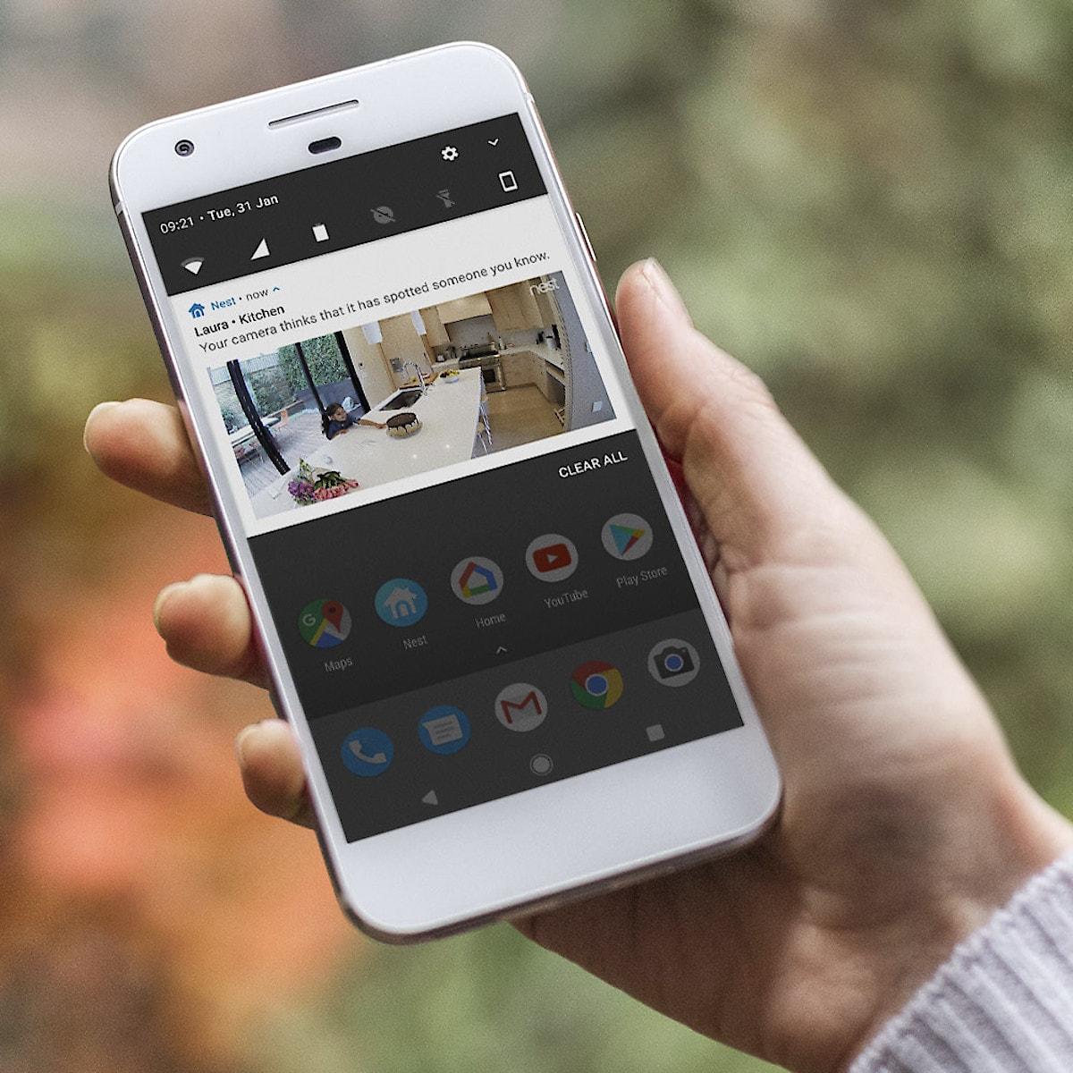 Google Nest Cam IQ Indoor overvåkningskamera