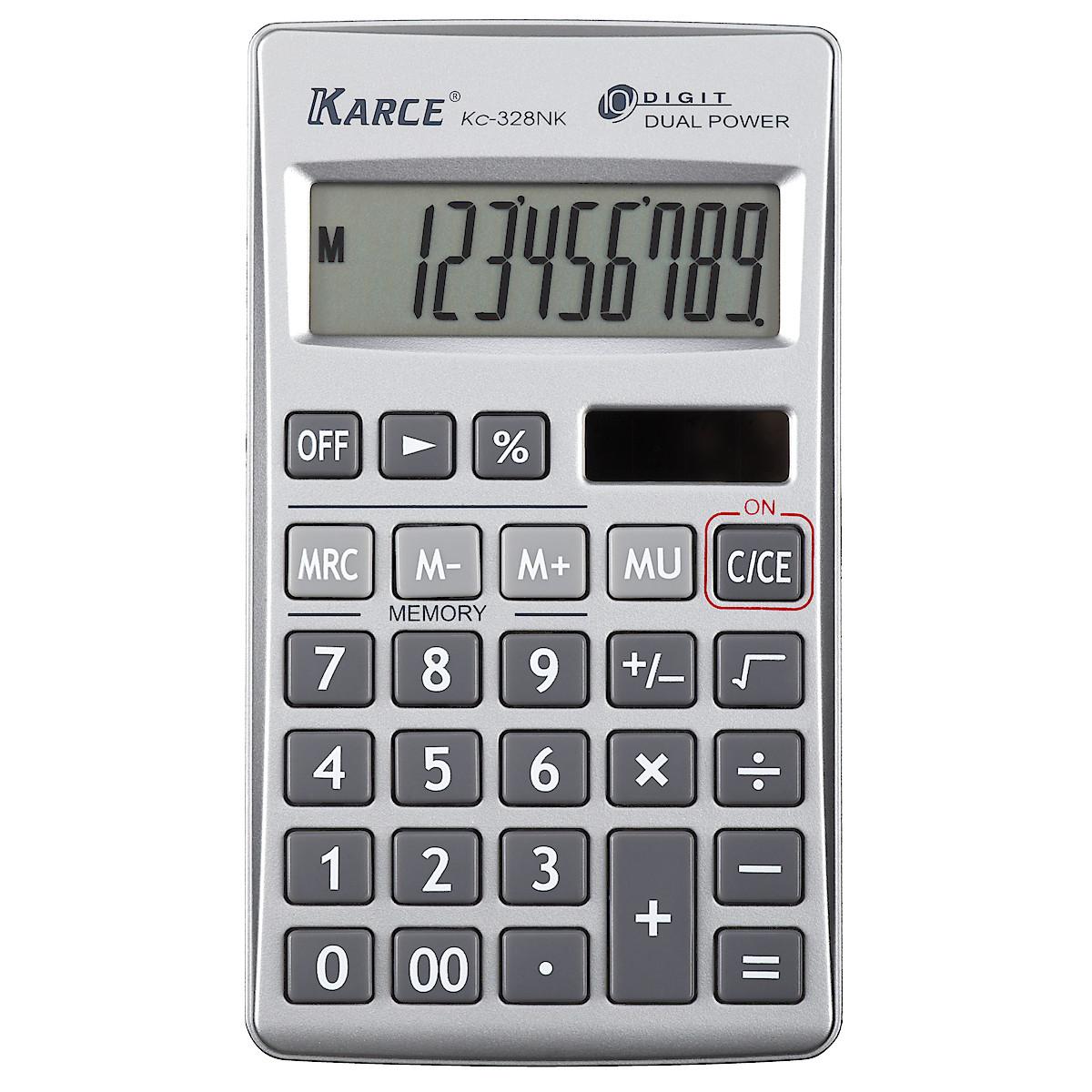 Miniräknare i fickformat