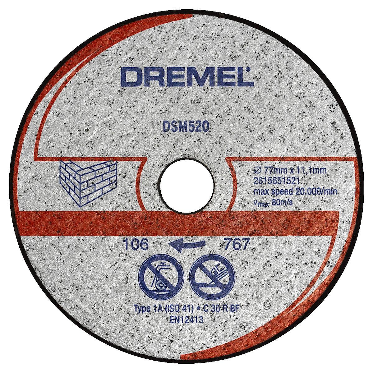 Kapskiva Dremel DSM520