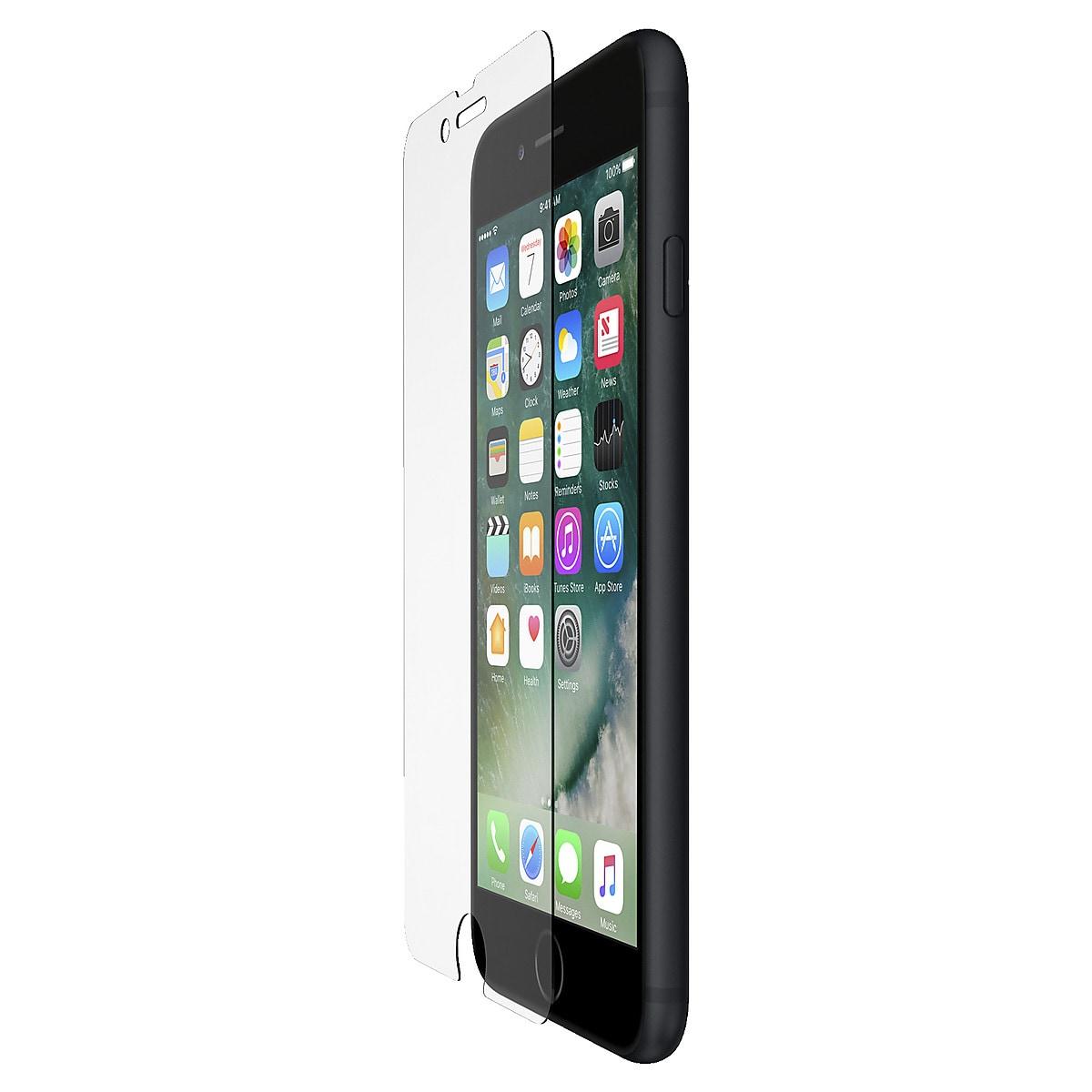 Skärmskydd för iPhone 7 Plus 8 Plus Belkin ScreenForce Tempered Glass