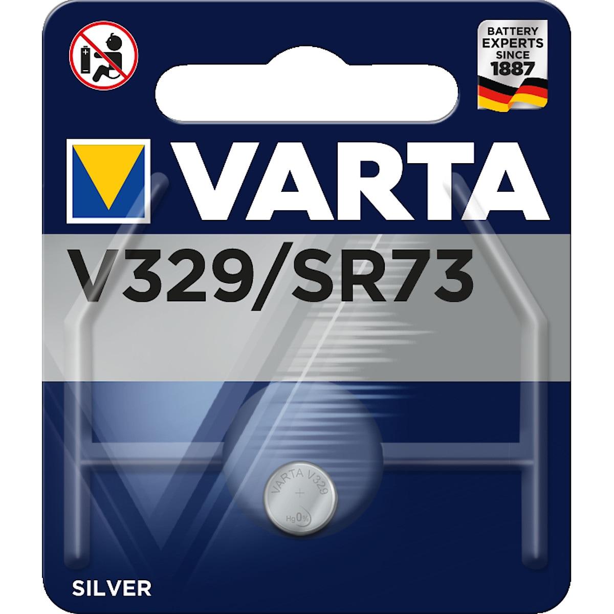 Knappcellsbatteri V329/SR73 VARTA