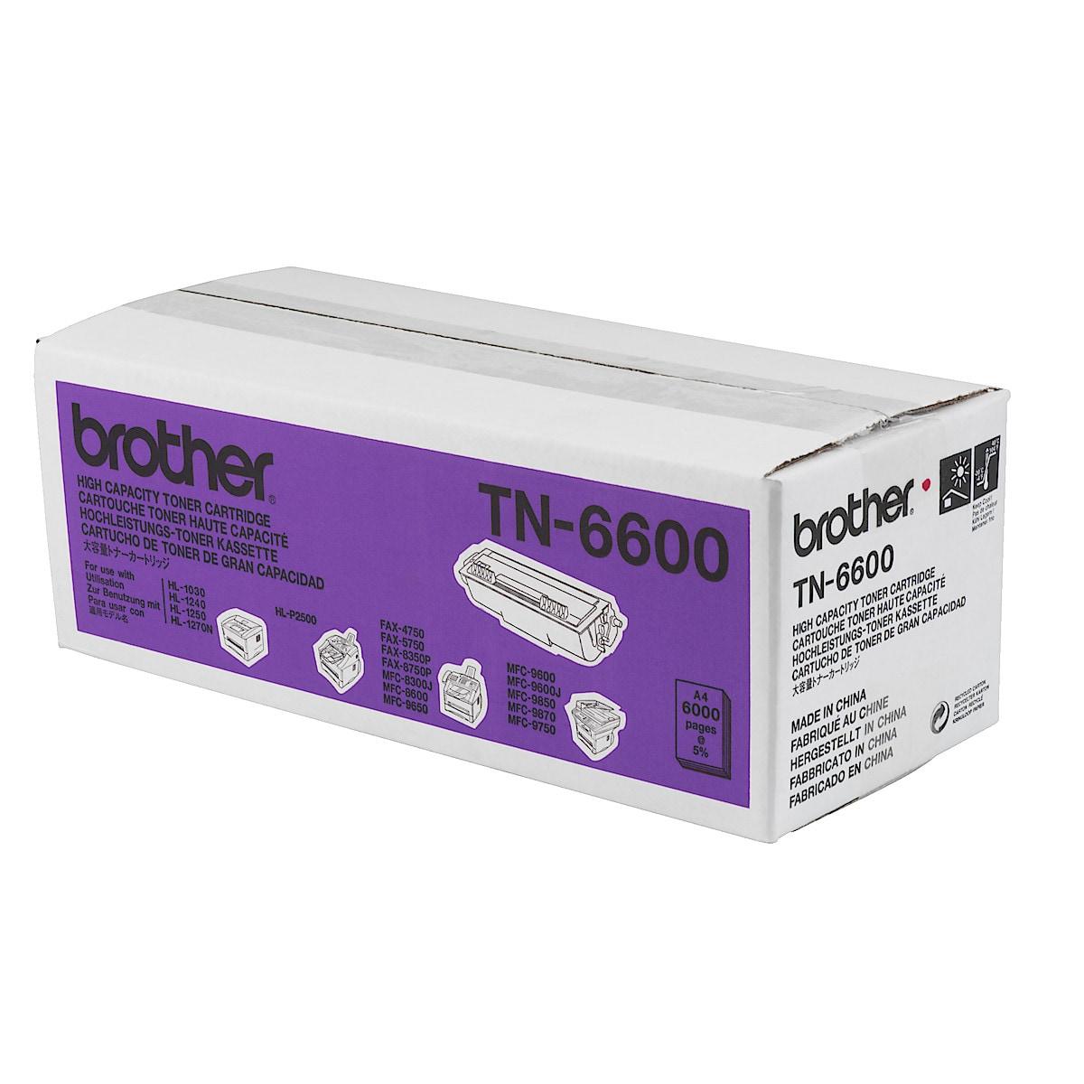 Toner for laserskrivere Brother TN-6600