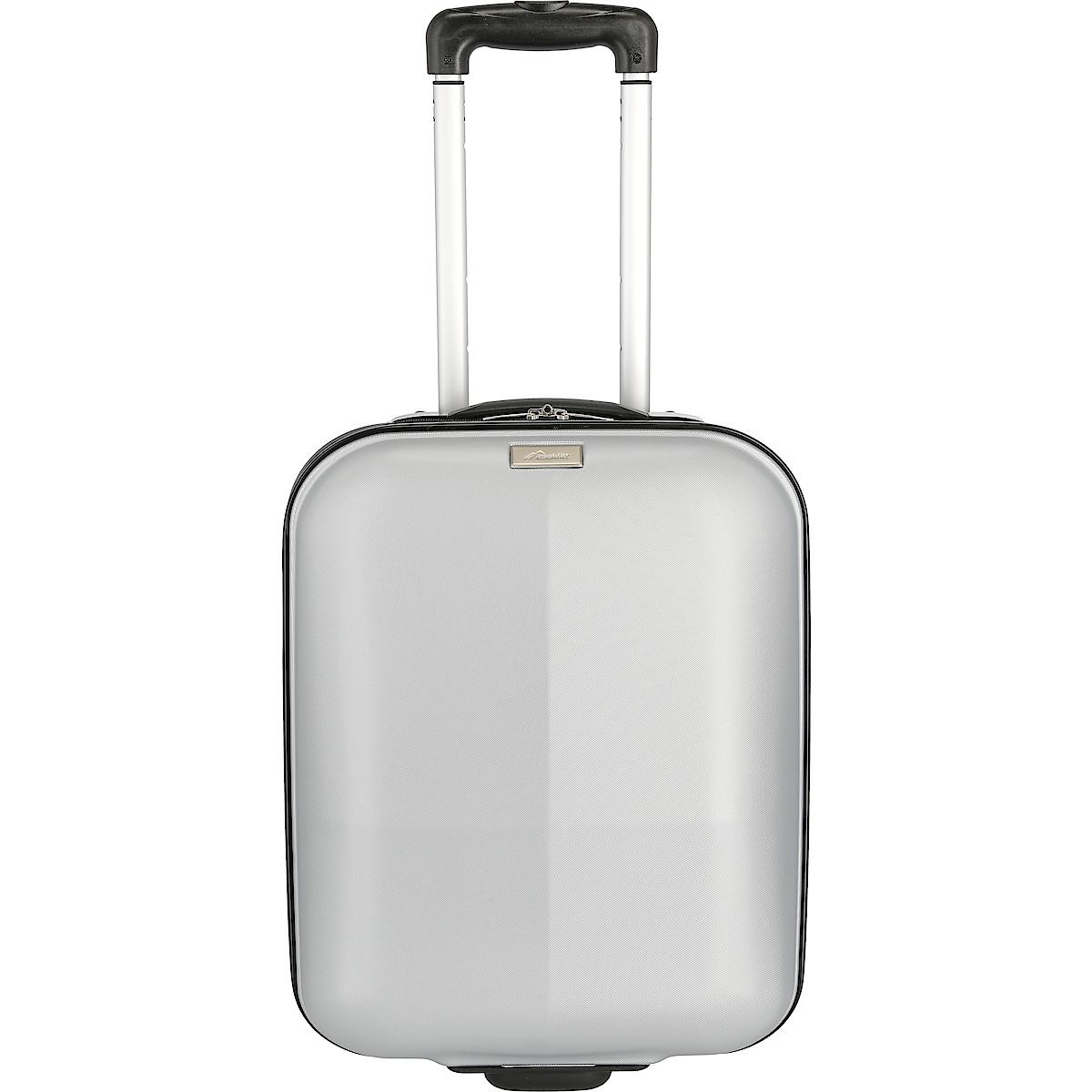 Resväska Asaklitt silver