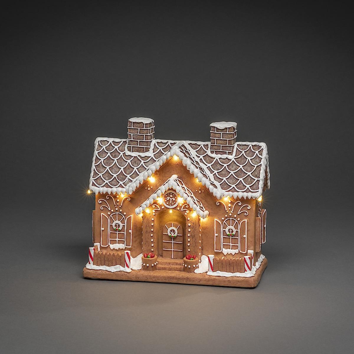 Pepparkakshus med belysning, Konstsmide