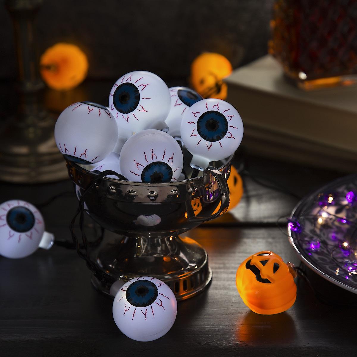 Lichterkette Halloween