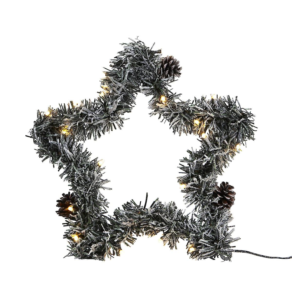 Batteridriven LED-stjärna