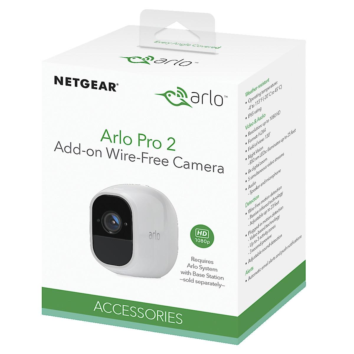 Arlo Pro 2 ekstra kamera