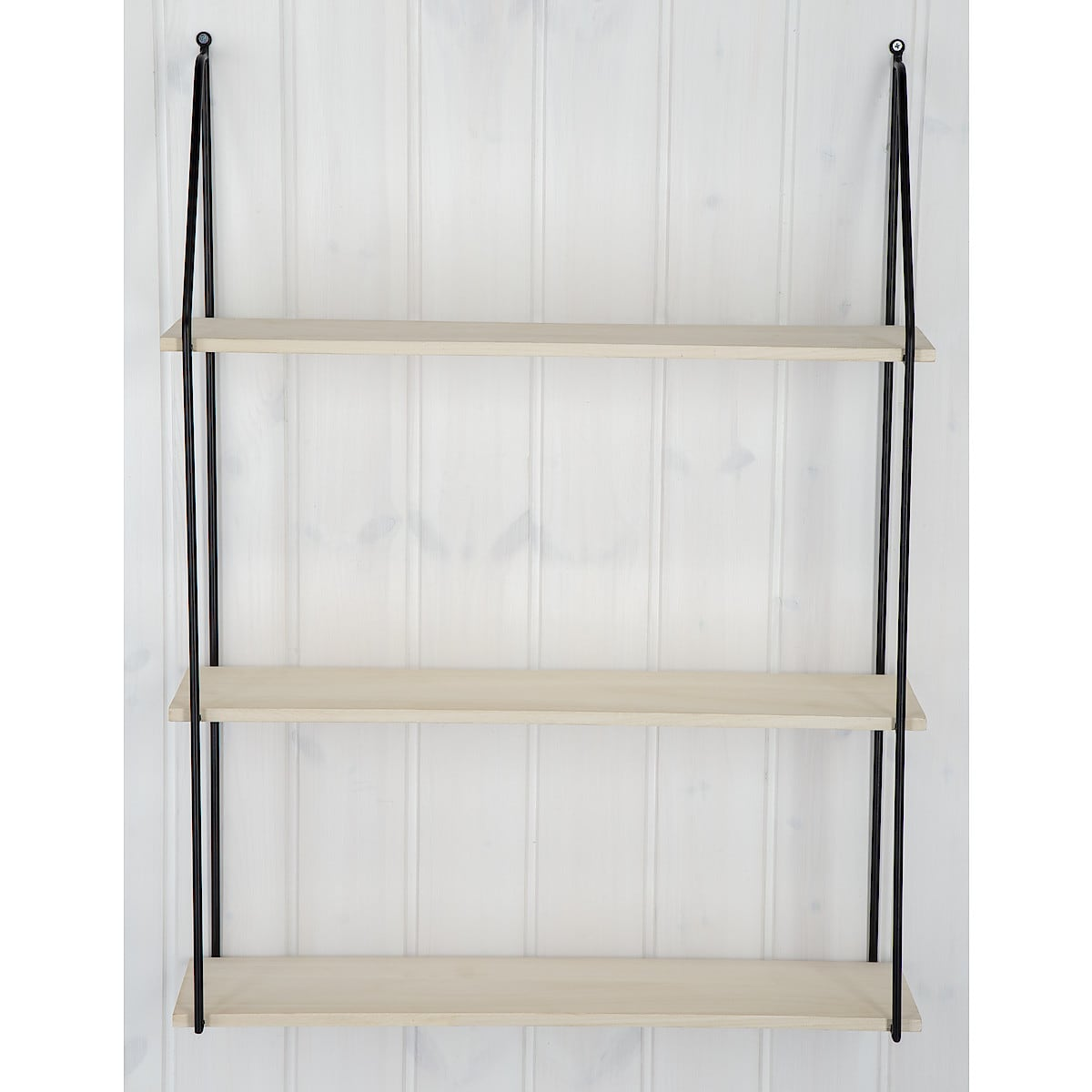 Wood/Metal Wall shelf